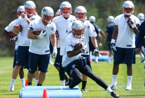 The New England Patriots are one of the teams that has started training camp already. Credit: Jim Rogash, Getty Images